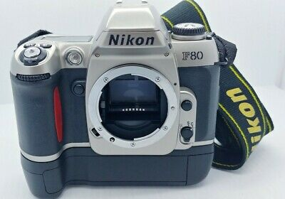 NIKON F80 film Camera Body w/MB-16 Battery Grip in EXCELLENT condition