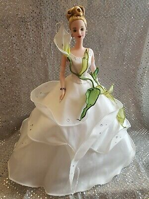 Lily Fao Schwarz Barbie Doll 1997 Limited Edition Floral Signature Collection