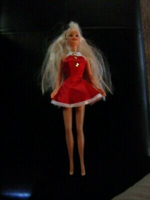 1976 Mattel Blonde Hair Barbie Doll with Original Dress and Jewelry
