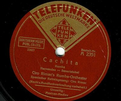 C.Rimacs Rumba-Orchester : Cachita  / Mexican-Medley     gute Platte !