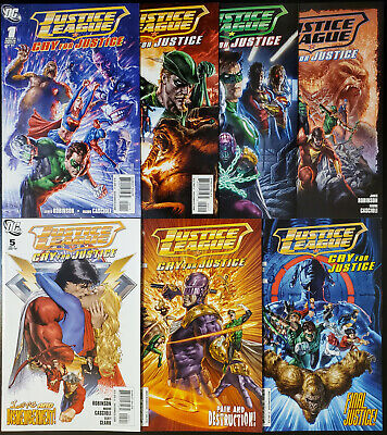 CRY FOR JUSTICE #1-7 NEAR MINT COMPLETE SET 2009 JUSTICE LEAGUE