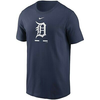Brand New Men's MLB 2020 Nike Detroit Tigers Legacy T-Shirt Authentic Collection