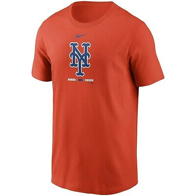 Brand New Men's MLB 2020 Nike New York Mets Legacy T-Shirt Authentic Collection
