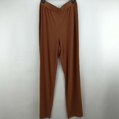 Linea by Louis Dell'Olio Moss Crepe Pants Cinnamon S A273877
