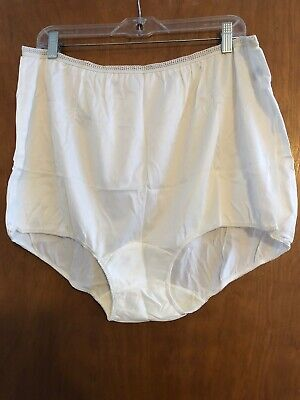 Charmtrique Vintage Sissy Granny Panties Size 11 Wide Brushed Dbl Nylon Gusset