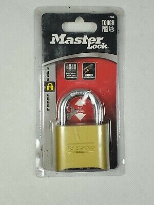"Master Lock® Resettable Combination Padlock 2"" Wide 175D"