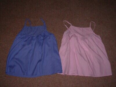 Marks And Spencer Kids Girl's Summer Cami Tops X Two(2) Age 10-11 Years Bnwt