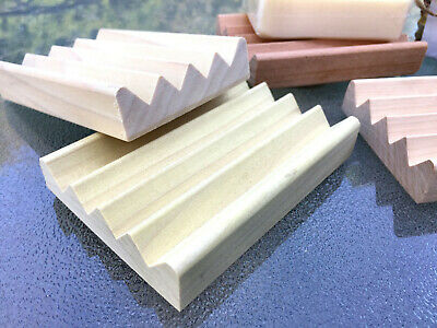36 natural poplar wood Boardwalk style soap dishes - .77 cents each