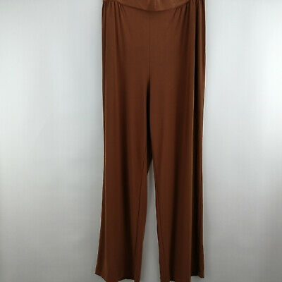 Linea by Louis Dell'Olio Moss Crepe Pants Cinnamon M      A273877