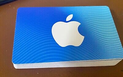 Apple iTunes gift card $100 (2 $50 cards)