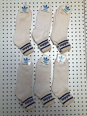 Vintage Mens Adidas Socks Striped Socks Nos Sz 10-13