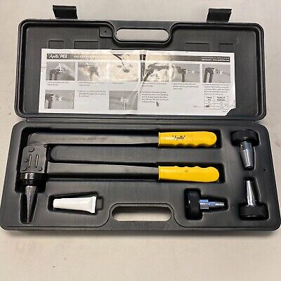 "Apollo PEX-A Expansion Tool Kit with 1/2"", 3/4"" & 1"" Expander Heads EPXTOOLKIT"