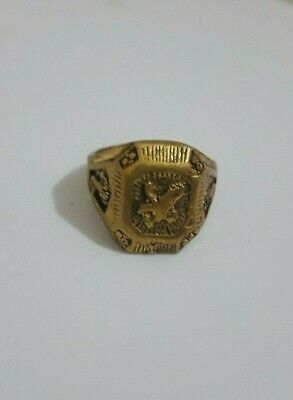 Ancient Old Ring  Bronze Legionary Solid Bronze Rare Type