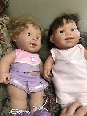 Two Big 16/17 Inch Berenguer Dolls! Perfect To Re Dress!