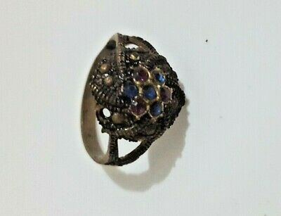 Ancient Rare Ring Roman Bronze Artifact Legionary Old Extremely Authentic