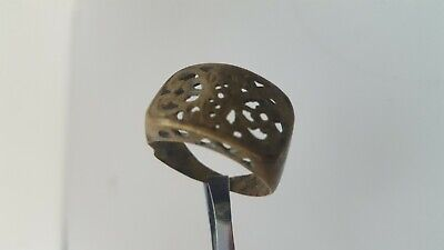 Ancient Medieval Viking Bronze Ring Musueum Quality Artifact