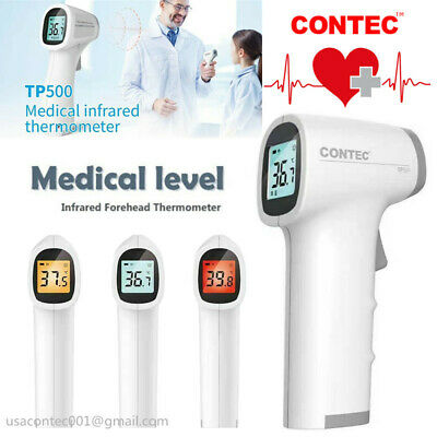 Contec LCD Digital Non-contact IR Infrared Thermometer Forehead Body Temperature