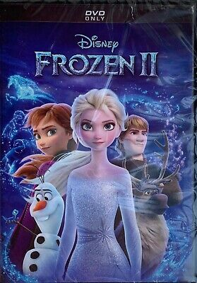 FROZEN ll  <   DVD   >   *New *Factory Sealed•