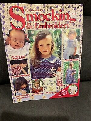 Australian Smocking  & Embroidery Issue No.19, Summer 1992
