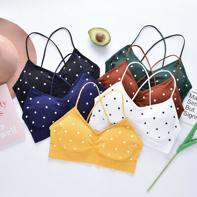 Sexy Sport Bra Tops Women Bra Backless Sports Bra Bralette V Neck Brassiere~