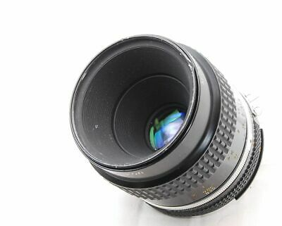Nikon Micro Nikkor 55mm F2.8 Ais MF Lens Japan #1971