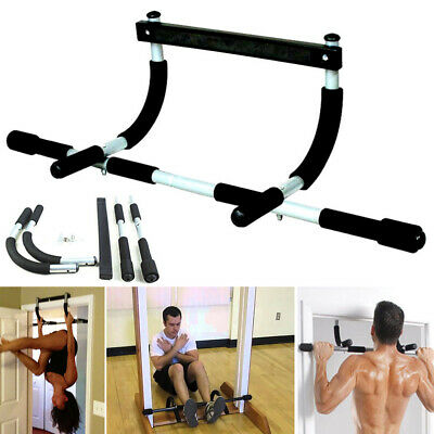 Door Pull Up Bars Strength Chin Up  Exercise Fitness Bar Gym Workout ACB#