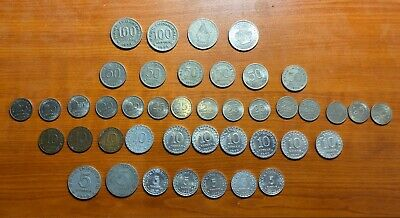 Group Of Old Indonesian Coins