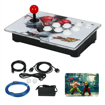 Single Stick Arcade Game Console 220V Pandora Box 9D 2700 in 1 HDMI VGA USB2.0
