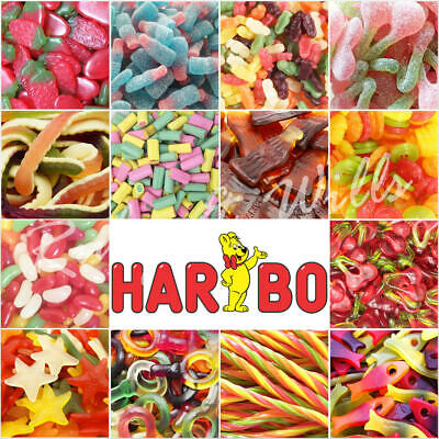 Wholesale Haribo Sweets Bag Pick n Mix Retro Sweets Candies Kids Party Favours