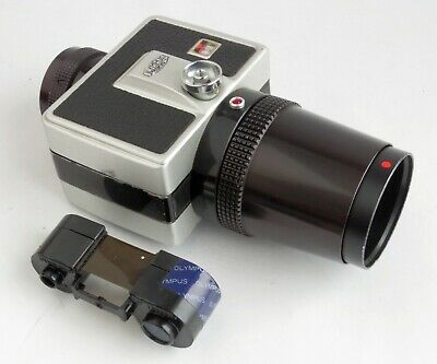 Olympus SC-16-3 Advanced 16mm Film Camera For Microscope Use... Rare & EXC
