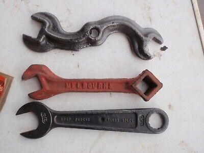 3 old  Spanners  Treble R.  Indestro