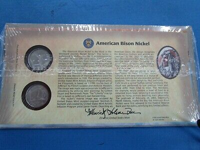 "2005 ""American Bison Nickle"" FDC ~ Q70 ~ in SEALED Envelope"