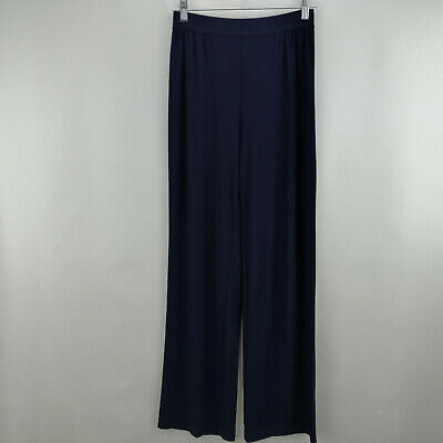 Linea by Louis Dell'Olio Moss Crepe Pants Navy XXS A273877