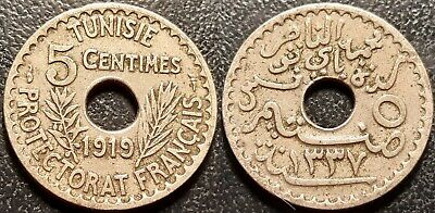 Tunisia - Protectorate French - 5 Cents 1919 - Jl #84