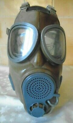 Czech Army Military M 10M Gas Respirator With Built In Drinking Tube