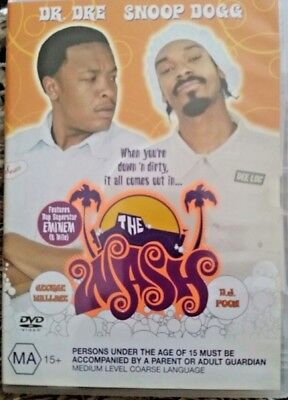 The Wash - Snoop Dogg Dr Dre Eminem Genuine Reg 4 Dvd As New Comedy