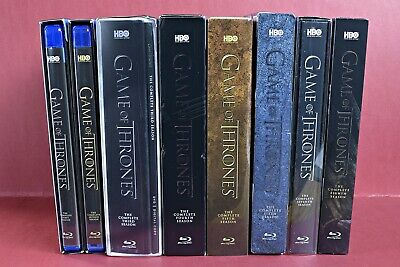 GAME OF THRONES...The Complete Series...Seasons 1-8...Blu-ray...Region A