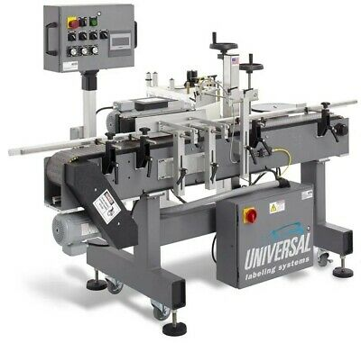 Universal Labeling Systems Pressure Sensitive Labeler With Wrap Station