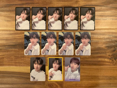 [USA] Stray Kids Changbin Official photocards Yellow Wood Levanter