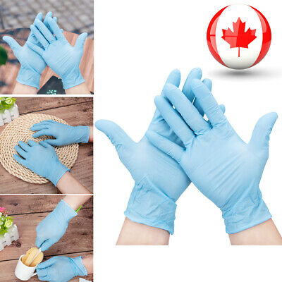 NEW Nitrile Disposable Gloves Powder Free Food Grade Gloves Latex Free Gloves CA