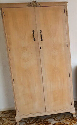 Olympus Style Bedroom Suite Blonde Satin Walnut Cabinet Works French Style