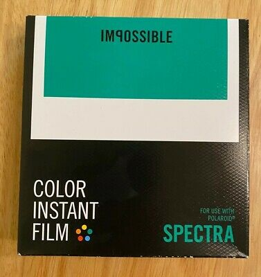 Impossible Project Color Spectra Film - RARE Expired Film