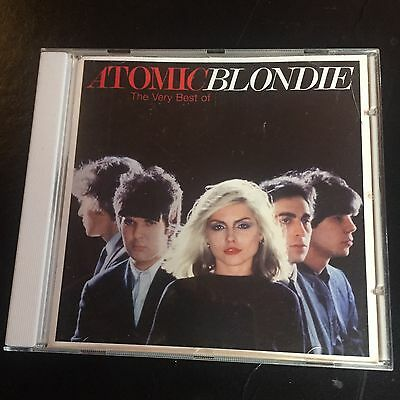 Atomic The Very Best Of Blondie Used 21 Track Greatest Hits Cd Pop New Wave Rock