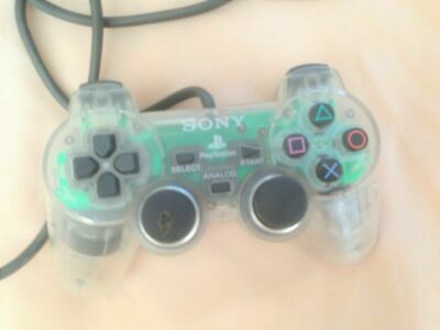 Official Sony Playstation 1 PS1 TRANSPARENT CLEAR Controller SCPH-1200