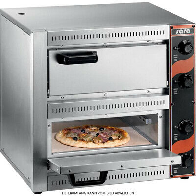 Pizza Oven Model Palermo 2 Tabletop Model Gastronomy Pizzeria Saro