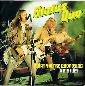 Status Quo / What You're Proposing / Vinyl / Hardrock / Heavy / AOR / Vertigo