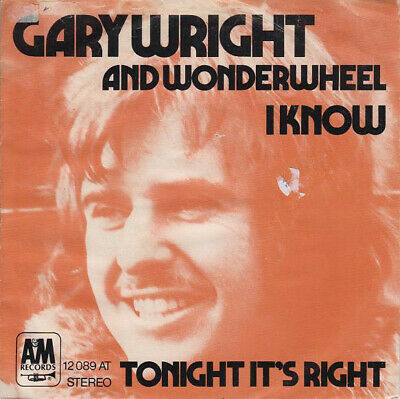 Gary Wright / I Know / Vinyl / Hardrock / Heavy / AOR / A&M Records / Germany