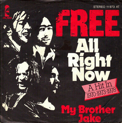 Free / All Right Now / Vinyl / Hardrock / Heavy / AOR / Island Records