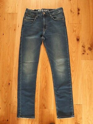 Marks & Spencer Boys Youth Blue Skinny Fit Jeans. Age 14