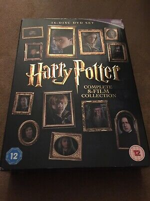 Harry Potter - Complete 8-Film Collection Good Condition. 16 Disc VGC